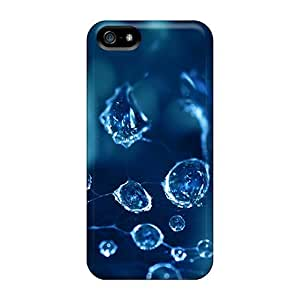 Flexible Tpu Back Case Cover For Iphone 5/5s - Water