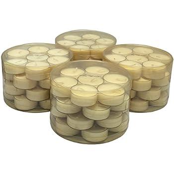 Adoria Soy Wax Tealight candles 100% cotton wick used, 112pcs total,28pcs per plastic box