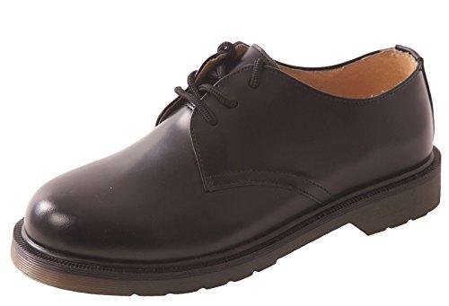 Steelite - Calzado de protección de Piel para hombre Negro negro Negro