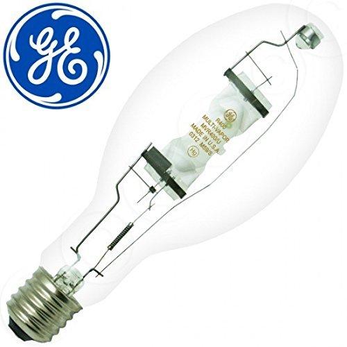 Base Metal Mogul 10k - GE 43828 (10-Pack) MVR400/U 400-Watt Metal Halide Light Bulb, 4000K, 36000 Lumens, Mogul Base