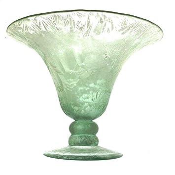 Amazonde Grün Glas Vasen Blumenvase Große Vase Glas Deko Vase