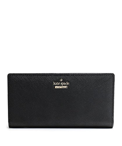 Kate Spade New York Women's Leather Stacy Popper Purse One Size Black by Kate Spade New York