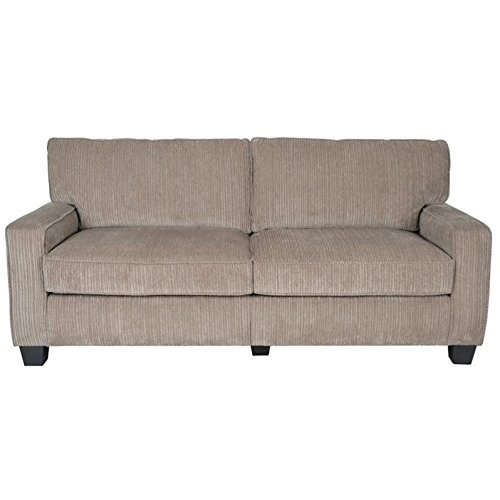 Serta RTA Palisades Collection 78' Sofa in Flagstone Beige