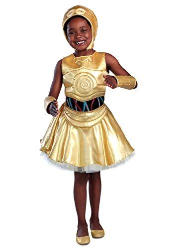 Princess Paradise Classic Star Wars Premium C-3Po Costume, X-Large, Gold -