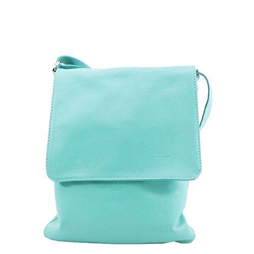 Gold Pelle Plain Bag Flap Women Vera Mint Crossbody Over WSqT0RRndw