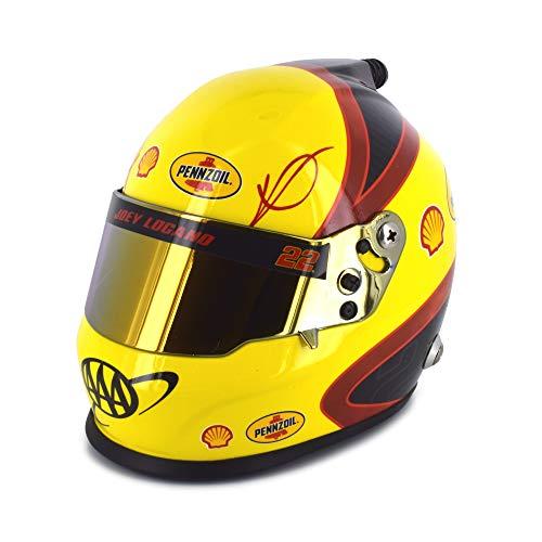 BrandArt Joey Logano 1/3 Scale Shell Pennzoil Replica NASCAR Mini Helmet