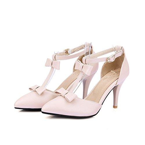 Sandals Non Heel SLC03883 Urethane Womens Lining Marking Cold Pink AdeeSu High 8qHZnR