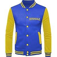 Jaqueta Masculina Criativa Urbana Riverdale Archie Bulldogs Série Moletom College