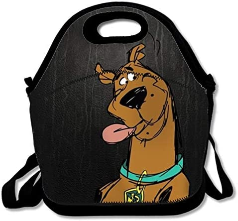 PlayA Scooby Doo Lunch ToteInsulated Thermal Reusable Lunch Bag Box for Boys MenZipper