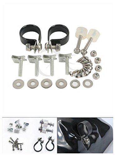 - TCMT Lower Vented Fairing Mounting Hardware Screw Clamps Set For Harley Touring 83-13