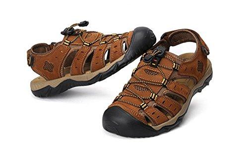 De Outdoor Playa B Leisure Beach Corium Baotou Hombres Zapatos Sandalias Para P6aWnda
