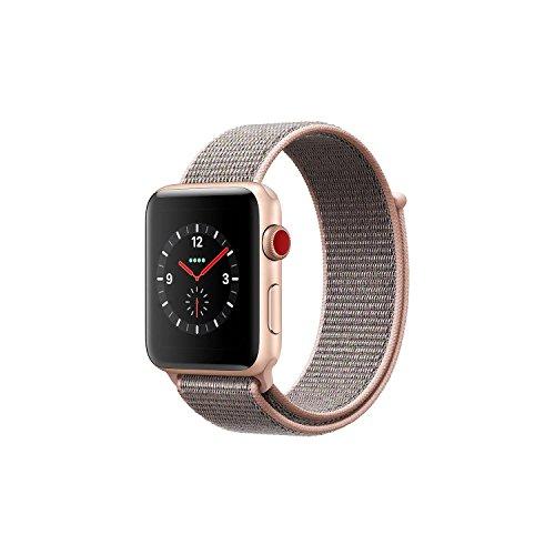 Cheap Apple Watch Series 3 (38mm) – Gold Aluminum Case / Pink Sand Loop (MQJU2LL/A)
