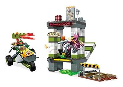 Mega Construx Teenage Mutant Ninja Turtles Sewer Battle Building Set Action Figure