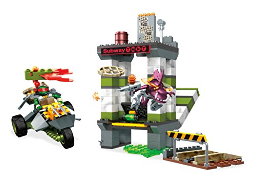 Mega Construx Teenage Mutant Ninja Turtles Sewer Battle Building Set Action Figure