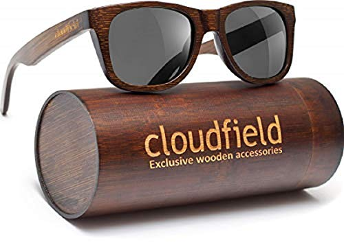 10. Cloudfield Wood-Sunglasses Polarized for Men and Women