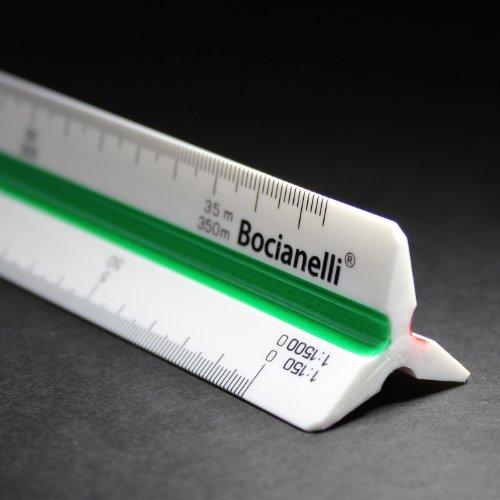 Professional Metric Plastic Triangular Scale