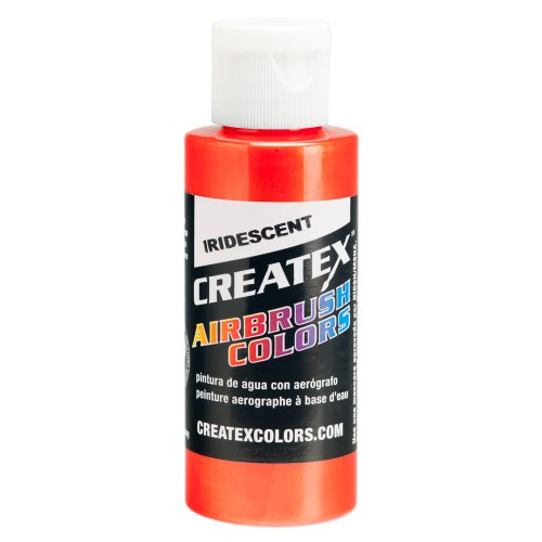 1 Gal. of Createx Iridescent Scarlet #5502 CREATEX AIRBRUSH COLORS Hobby Craft Art PAINT by Createx