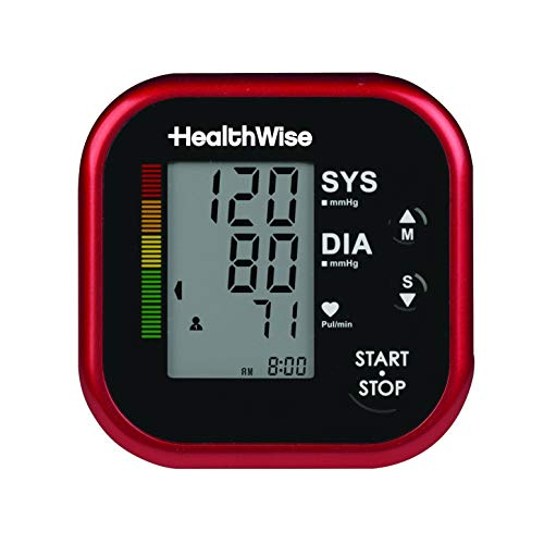 HealthWise Blood Pressure Monitor with Adult Arm Cuff