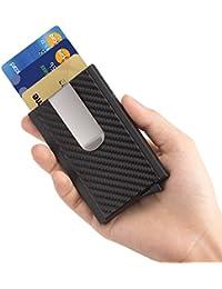 RFID Blocking Money Clip Aluminum Pop-up Card Case Magnet Slim Wallet