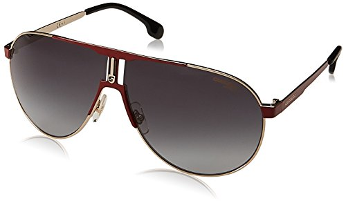 Carrera Men's Ca1005s Aviator Sunglasses, RED GOLD/DARK GRAY GRADIENT, 66 ()