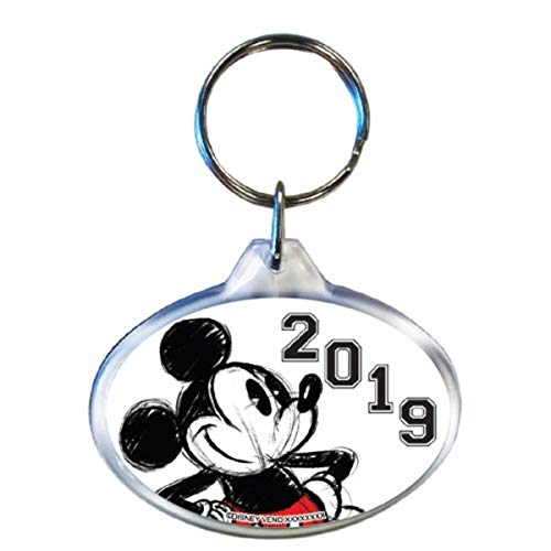 Amazon.com: Disney Dated 2019 Original Mickey Mouse Llavero ...