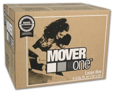 SCHWARZ SUPPLY SOURCE SP-903 4.5 cu. ft. Mover One Large Moving Box, 24'' by 18'' by 18'' by SCHWARZ SUPPLY SOURCE