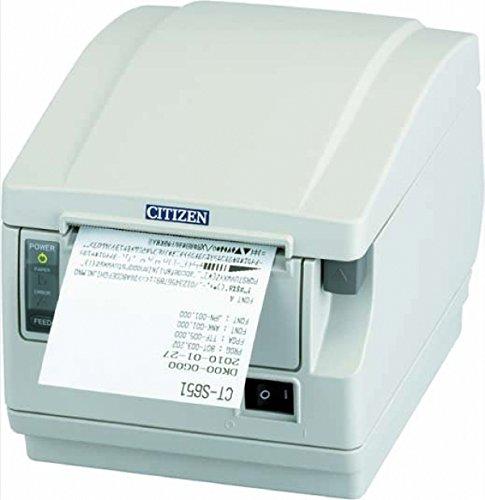 Citizen CT-S651 Thermique directe POS printer 203 x 203 DPI - Imprimantes Point de Vente (Thermique directe, POS printer, 200 mm/sec, 203 x 203 DPI, 8 cm, Blanc)