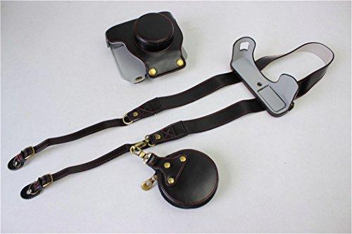 BolinUS Handmade PU Leather FullBody Camera Case Bag Cover f