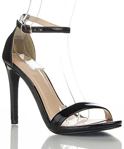 RF ROOM OF FASHION Simple Classy Formal Club Prom Dress Sandal Ankle Wrap Women Sandals 4