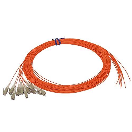3m LC/PC multimode simplex 62.5 micron OM1 900um pigtail (12-pack) - orange