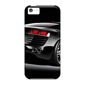 ColtonMorrill Iphone 5c Shockproof Hard Phone Covers Allow Personal Design High-definition Audi R8 Image [GrL13371kOhA]