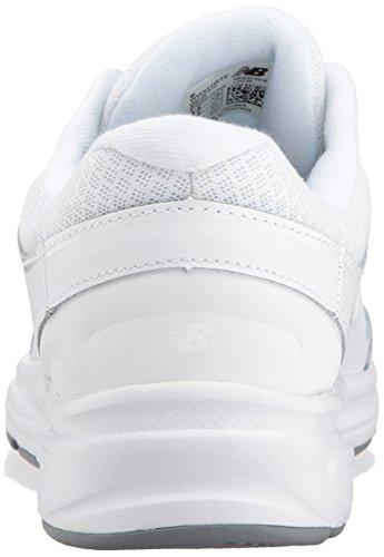 New Balance Womens WW411WT2 Walking Shoe, White, 41 EU