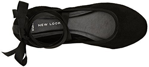 Noir New Look Noir Escarpins Looba Femme wIAIfq