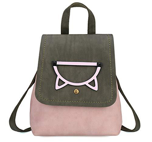 filles sac sac de adolescents mode Pink sacs dos couleur bonbons Petit femmes sac dos voyage d'école dos de femmes sacs Pd4w7q4