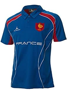 129267a1 France Rugby Supporters Polo Shirt S - XXXXL Olorun French Rugby Polo Shirt