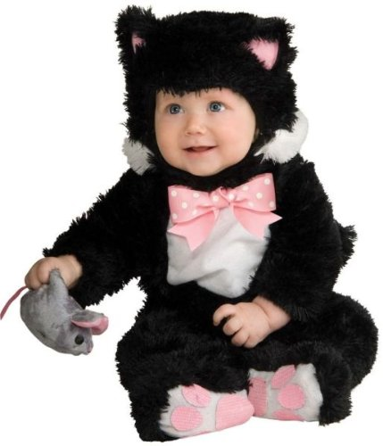 Baby Black Inky Costumes Kitty (Inky Black Kitty Costume - Baby)