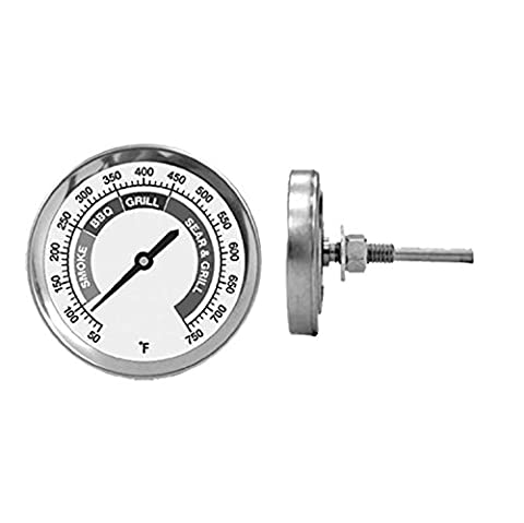 21st Century B50A5 Just Grill it Bolt-On Grill Thermometer (Mb Smoker)