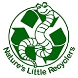 Nature's Little Recyclers 1,000+ Red Worms, Red