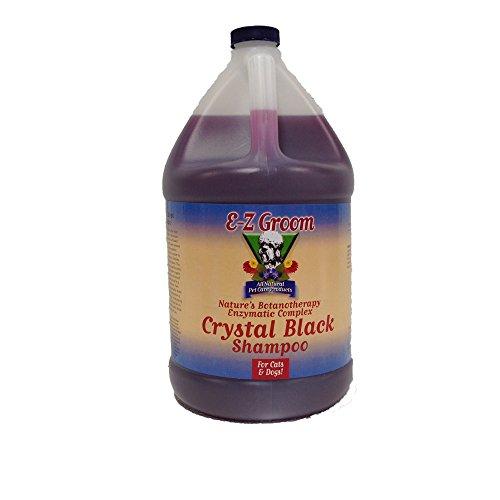 Ez Groom Crystal - EZ Groom Crystal Black Dog Shampoo Gallon - Concentrated