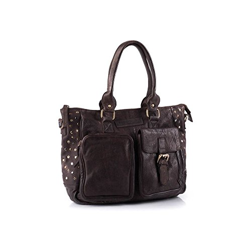 Deseos pieza bolso Petra Marrón - marrón oscuro
