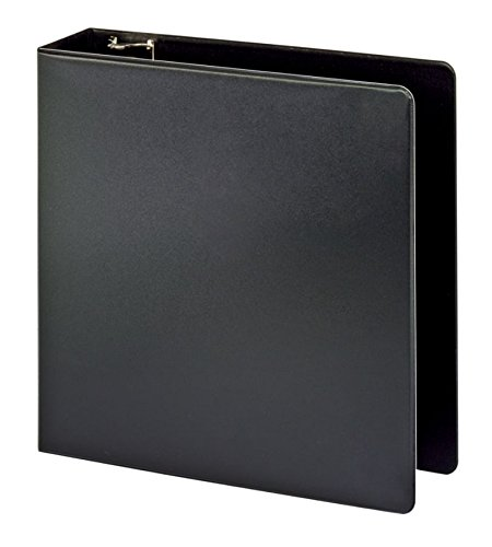Office Depot(R) Brand Durable Slanted D-Ring Binder with Label Holder, 3in. Rings, 100% Recycled, Black