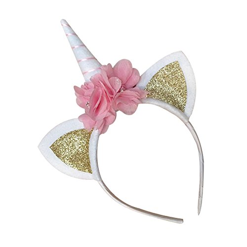 Song Cat Ear Unicorn Headwear Children Girls Fancy Dress Party Halloween (Li Halloween Events)