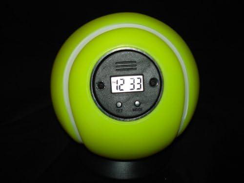 Pearl lanzamiento de despertador Pelota de tenis: Amazon.es: Hogar
