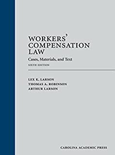 Workers' Compensation Law: Cases, Materials, and Text (1531008089) | Amazon price tracker / tracking, Amazon price history charts, Amazon price watches, Amazon price drop alerts