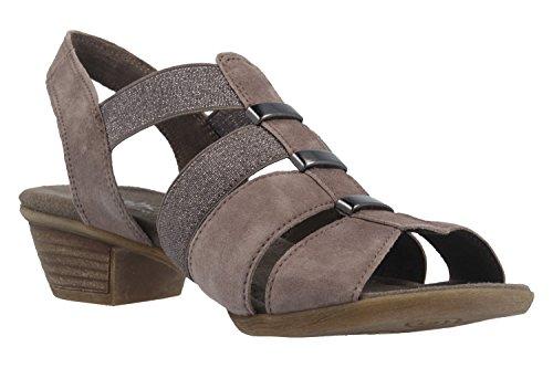 Gabor Women's Comfort Sandals schlamm braun DlABXa