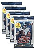 Amazon Price History for:Panini 2017-2018 Score NFL Football Trading Cards Retail Factory Sealed 4 Pack