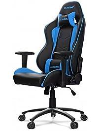 AKRacing Nitro Series Premium Gaming Chair With High Backrest, Recliner,  Swivel, Tilt,