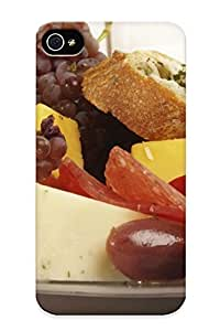 iphone covers fashion case Design For Iphone 6 4.7 Premium Tpu case cover zYQkyd0O1Ax Cover Food Cheese Bread Grapes Olives protective case cover
