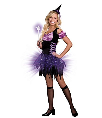 [Baoer Teen Switch Witch Light Up Costume Large As Shown] (Switch Witch Costume)