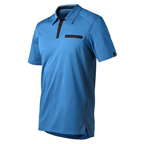 Oakley Cameron Golf Polo California Blue XX-Large